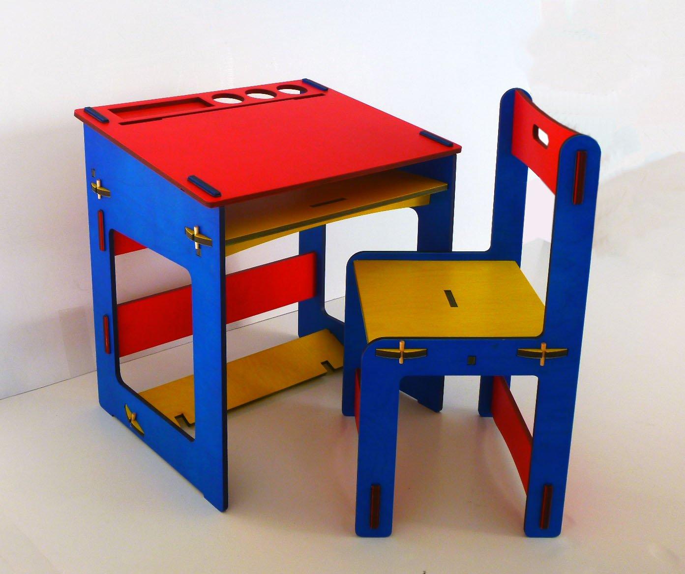 Colibrì SRLS - Tavolino per bambino in legno con sedia Colibrì SRLS