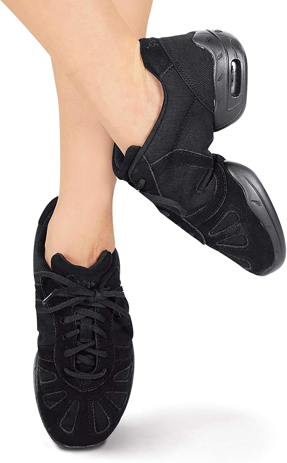 Adult Hi-Step Dance Sneaker P40CBLK05 Black 5 M US