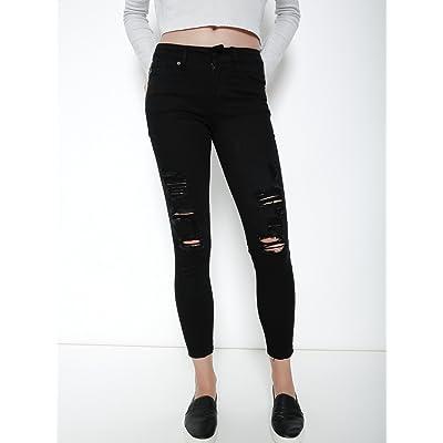 KAN CAN Kancan KC6048BK Sharon Eton Jeans 5