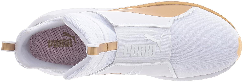 Puma Joggesko For Kvinner Gull Og Hvitt FsrSds