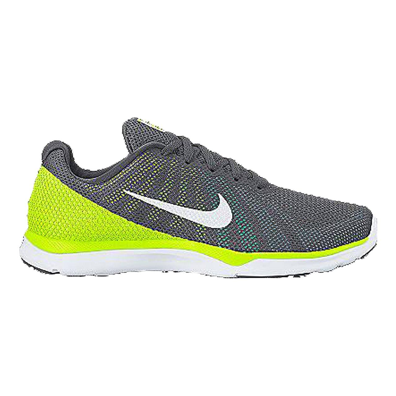 NIKE Women's in-Season TR 6 Cross Training Shoe B01DL3WHXA 9.5 B(M) US|Dark Grey/White/Bluecap/Green Glow