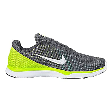 new arrival b26a9 104f3 Nike Women s 852449-002 Fitness Shoes, Grey (Dark Grey White Bluecap