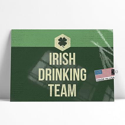 9b3ce3612796 Amazon.com  NEONBLOND Large Poster Irish Drinking Team St. Patrick s ...