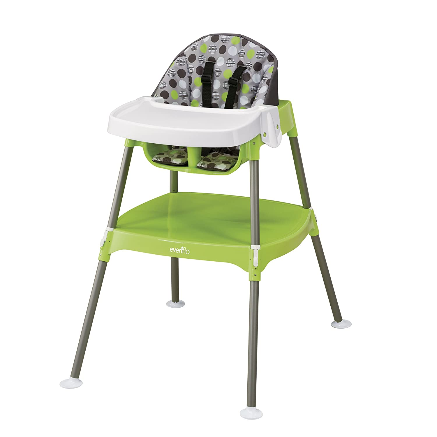 Amazon Evenflo Convertible High Chair Dottie Lime Childrens