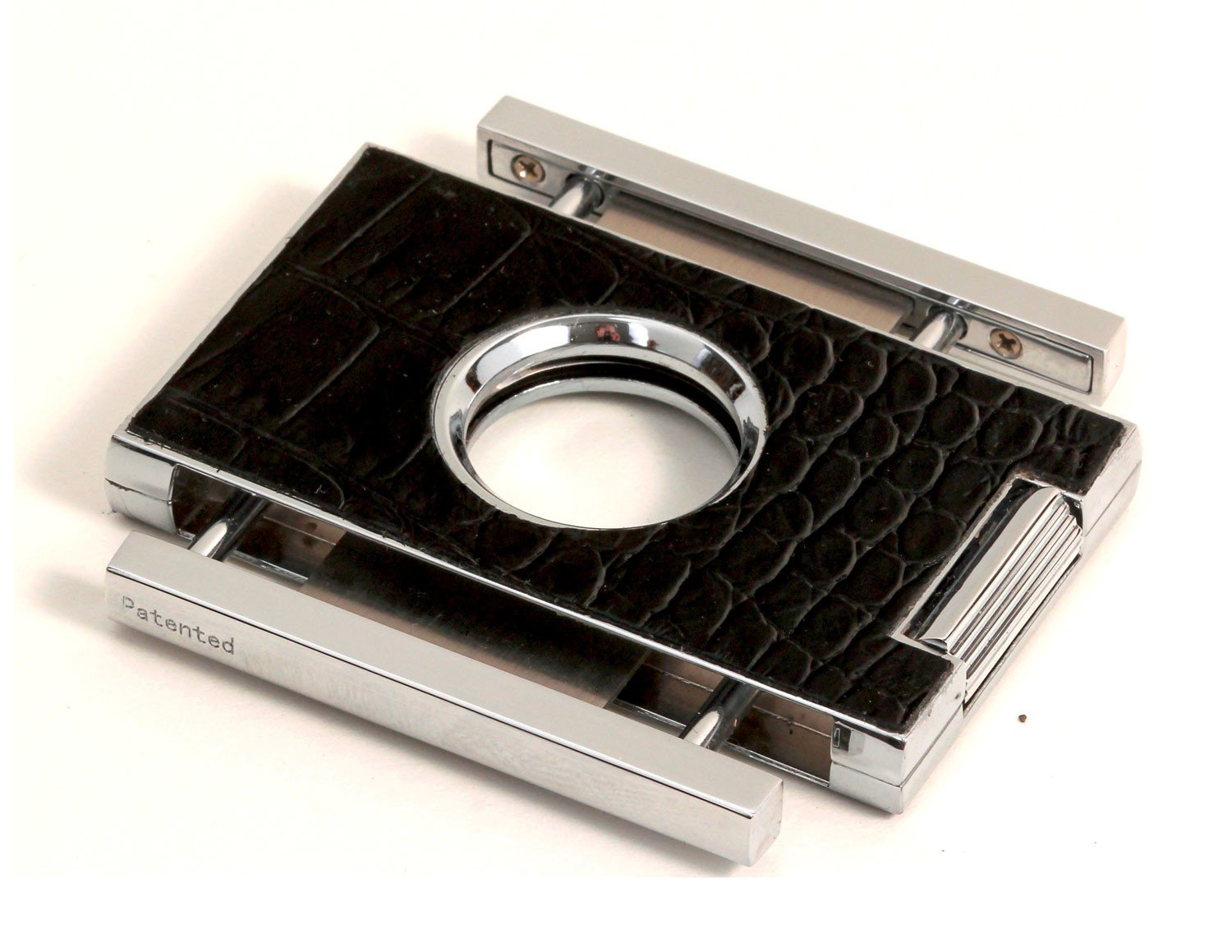 Brizard & Co. Elite Series Crocodile Black Cigar Cutters