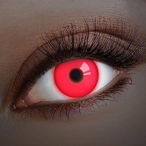 07736092ca UV Lentes de contacto coloreadas Red In Your Eyes de Aricona – que cubren  las lentes