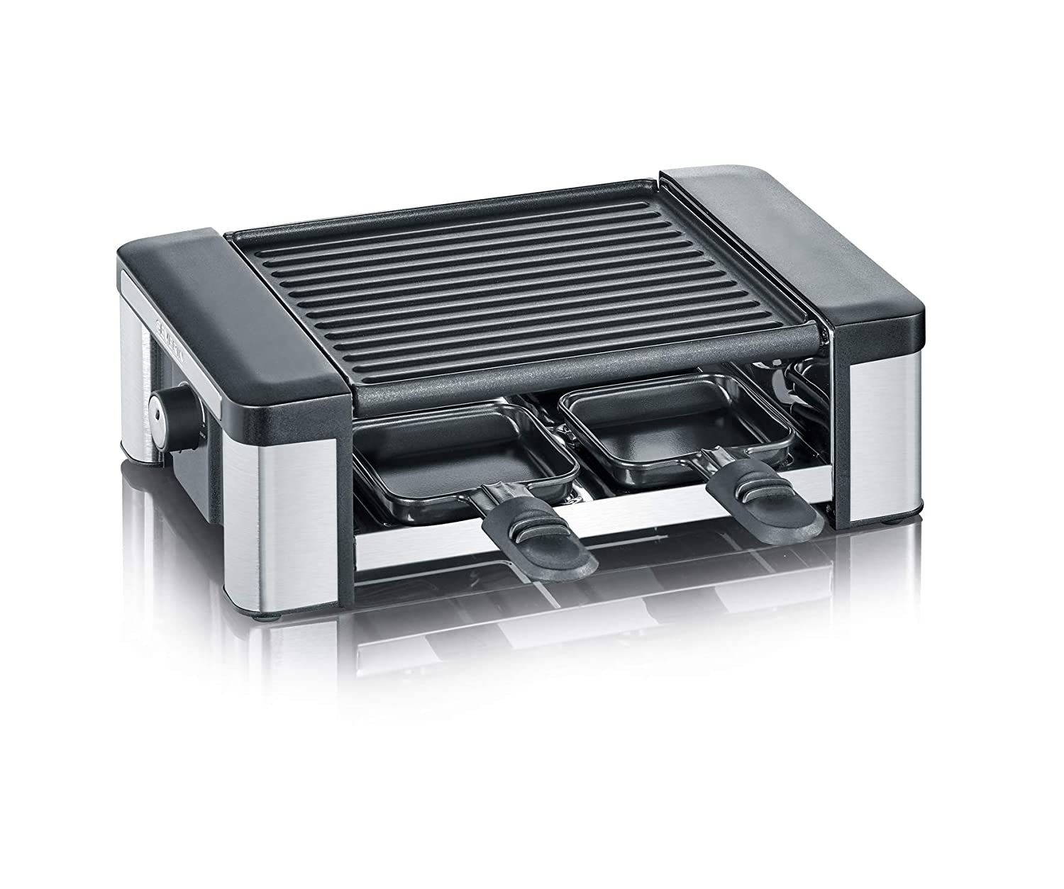 SEVERIN Raclette Partygrill con Plancha Reversible, 600 W ...