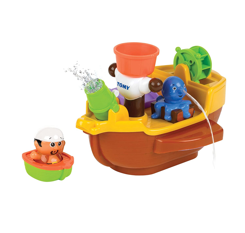 Tomy Toomies Barco Pirata para el Baño (BIZAK 30691602)