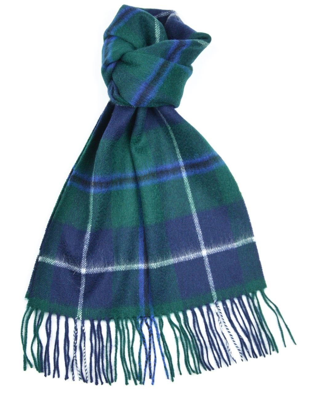 Lambswool Scottish Clan Scarf Douglas Modern Tartan