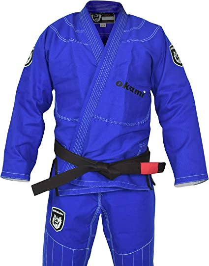 OKAMI Fightgear BJJ Gi Shield - Chándal para Hombre, Color Azul ...