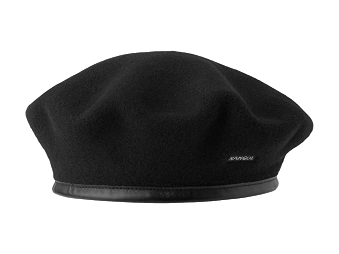 0594c39dbea9c Kangol Women s Beret Monty Beret black  Amazon.co.uk  Clothing