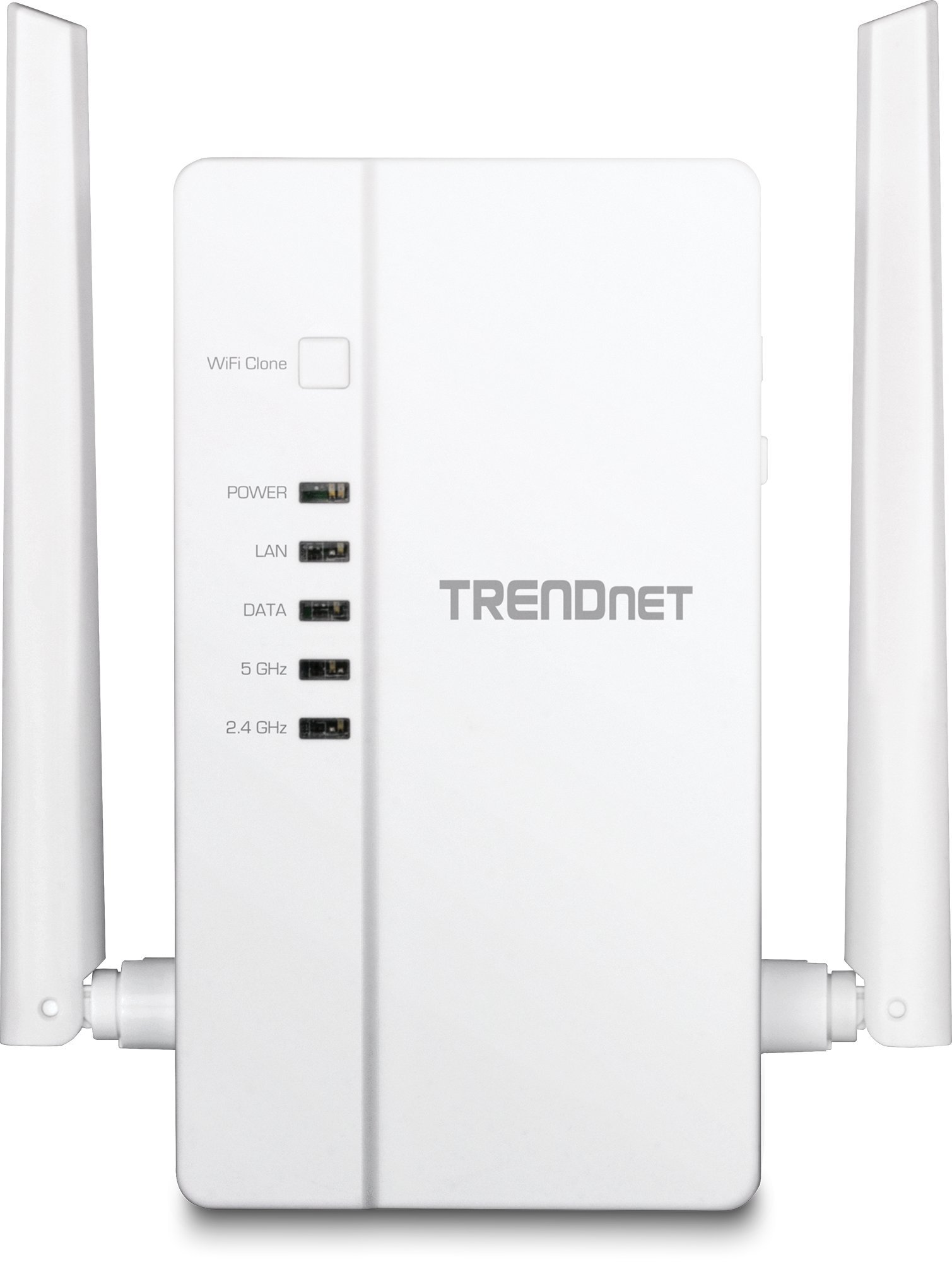 TRENDnet Wi-Fi Everywhere Powerline 1200 AV2 Dual-Band AC1200 Wireless Access Point, 3 x Gigabit Ports, TPL-430AP