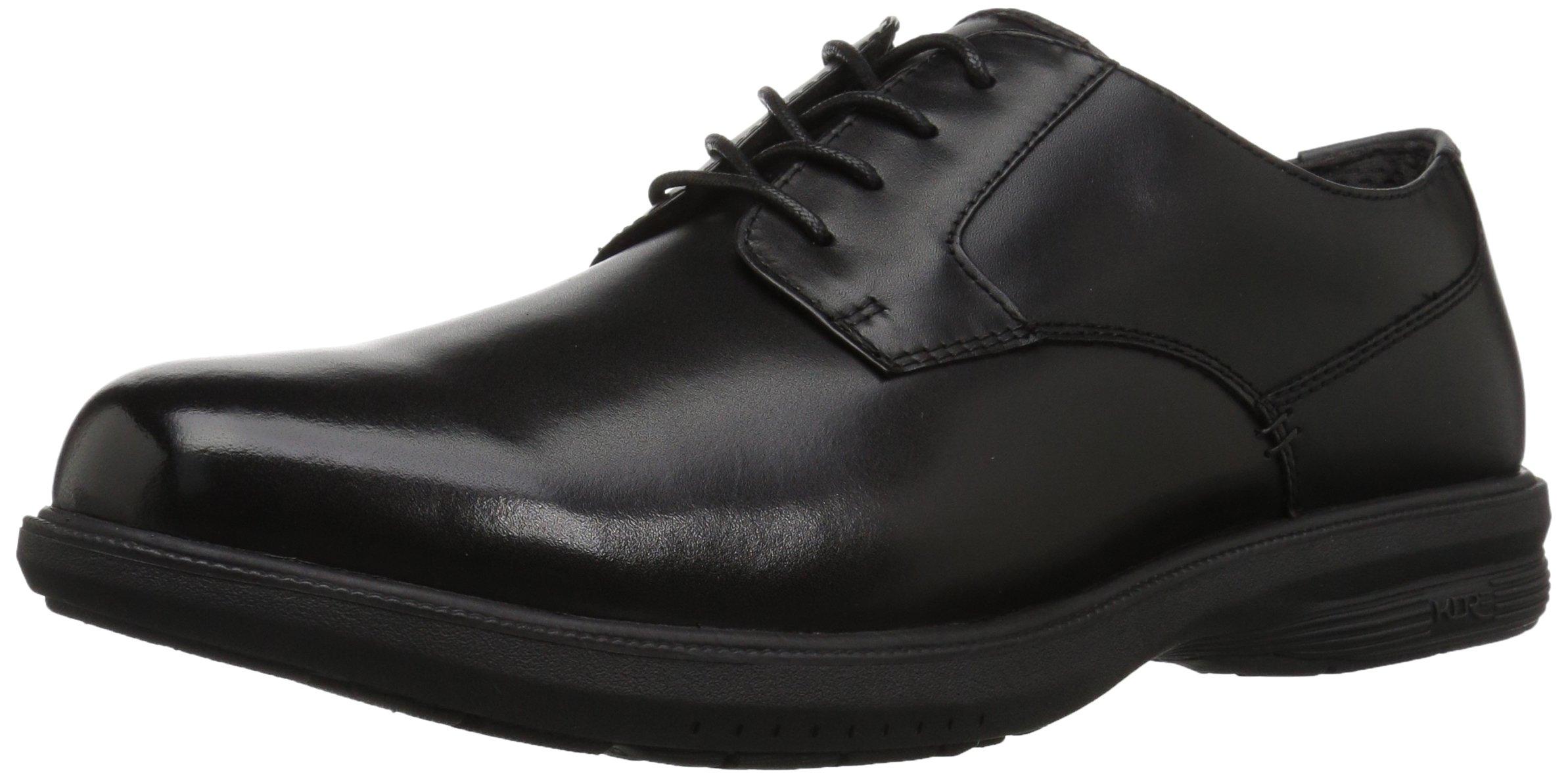 Nunn Bush Men's Messina Plain Toe Oxford, Black, 10.5 M US