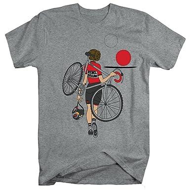 b2ef582ff56b8f Endurance Conspiracy Men's (Star Wars Inspired) Cycle T Shirt Hot Cross  Buns by Grey
