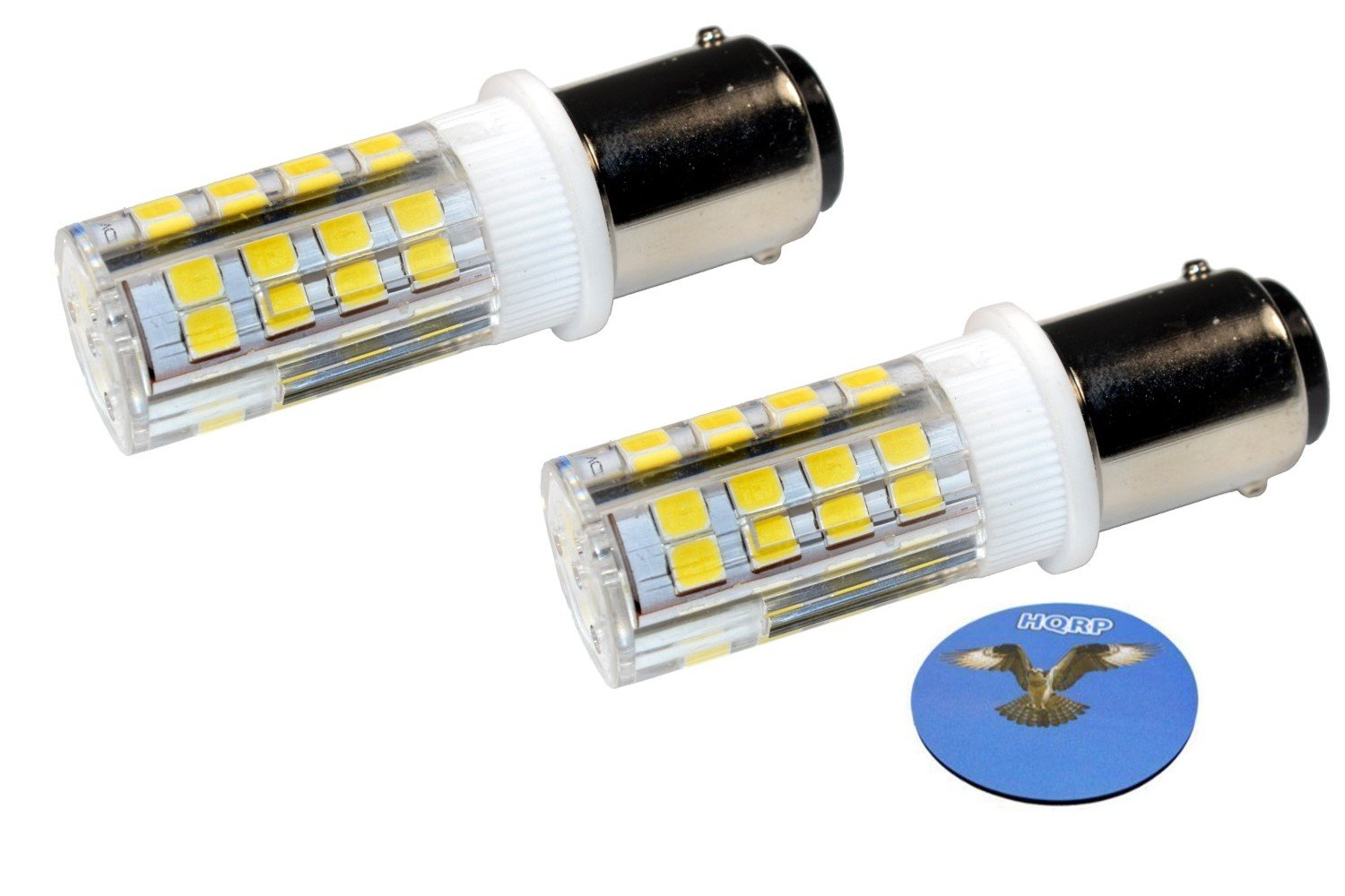 HQRP 2-Pack Sewing Machine LED Light Bulb for Janome (Newhome) 108 134D 204D 659 1004 1612 1622 1814 1818 1822 3125 3434D MC4018 My Excel 4023 MX3123 TB-12 Plus HQRP Coaster