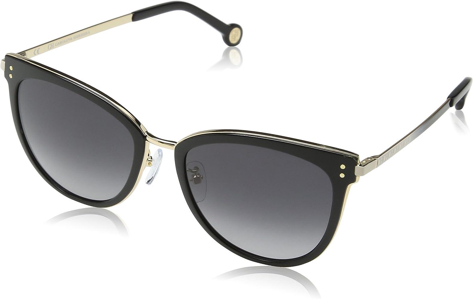 Carolina Herrera Mujer SHE102 Gafas de sol, Dorado (Shiny Rose Gold): Amazon.es: Ropa y accesorios