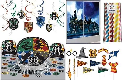 Kit de decoración de fiesta de cumpleaños de Harry Potter ...