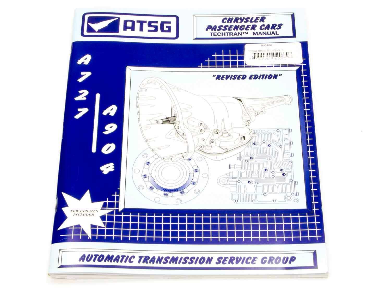 TCI 893100 Transmission Technical Overhaul Manuals, 1 Pack