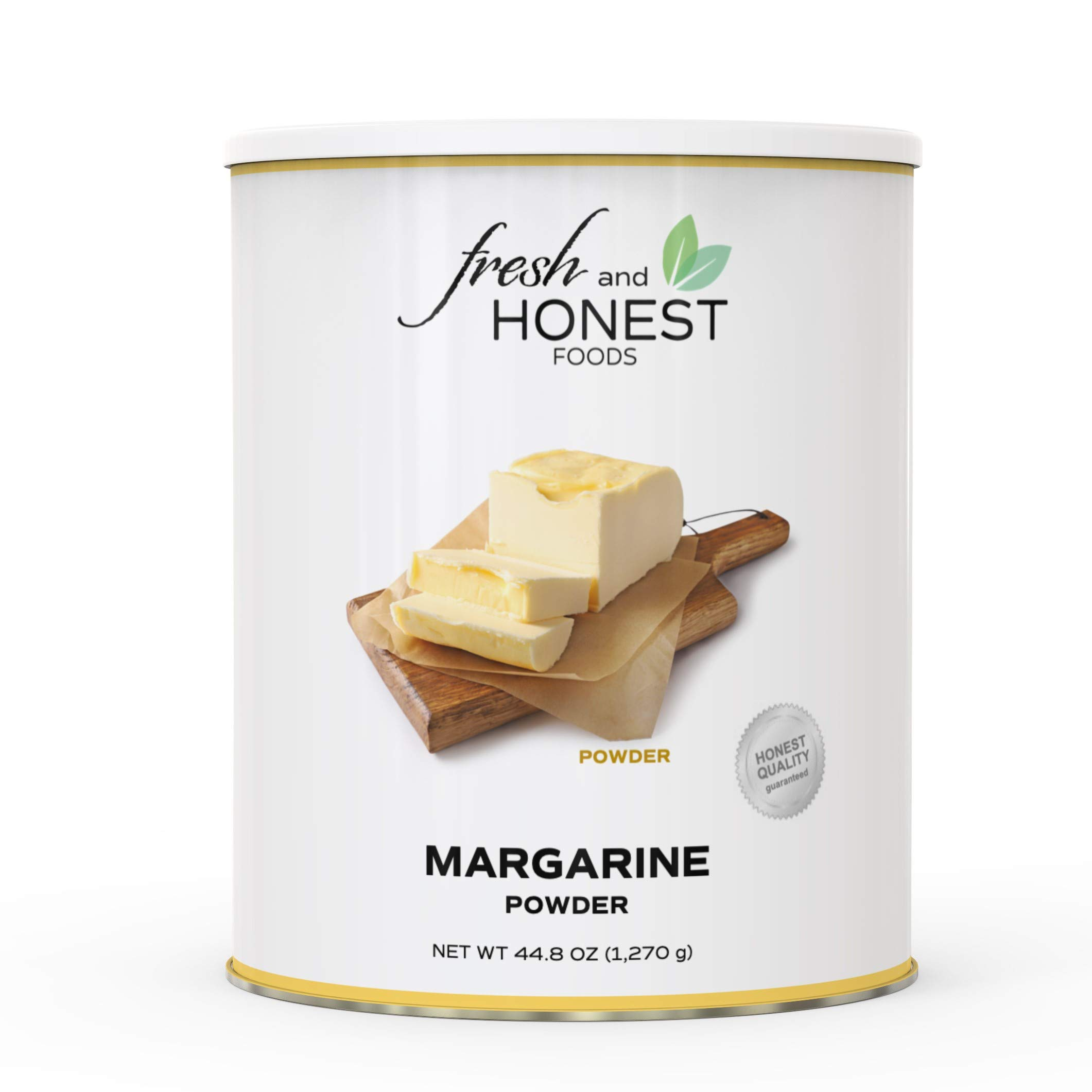 Fresh and Honest Foods Margarine Powder 44.8 OZ #10 Can