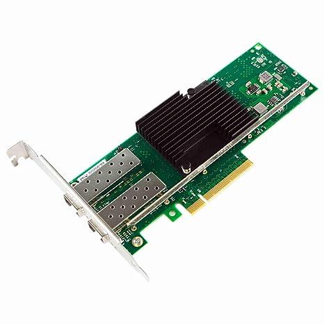 Semoic Tarjeta de Red Nic PCI-e de 10 GB, para X710-DA2 con Chip ...
