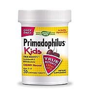 Nature's Way Primadophilus® Kids 3 Billion CFU, 30 Cherry Flavored Chews (Ages 2...
