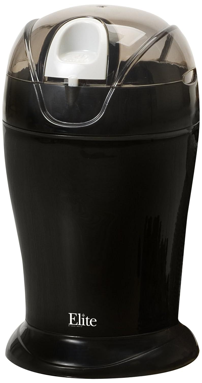 Elite Cuisine ETS-630B Maxi-Matic 150 Watt 4 Ounce Coffee Grinder, Black
