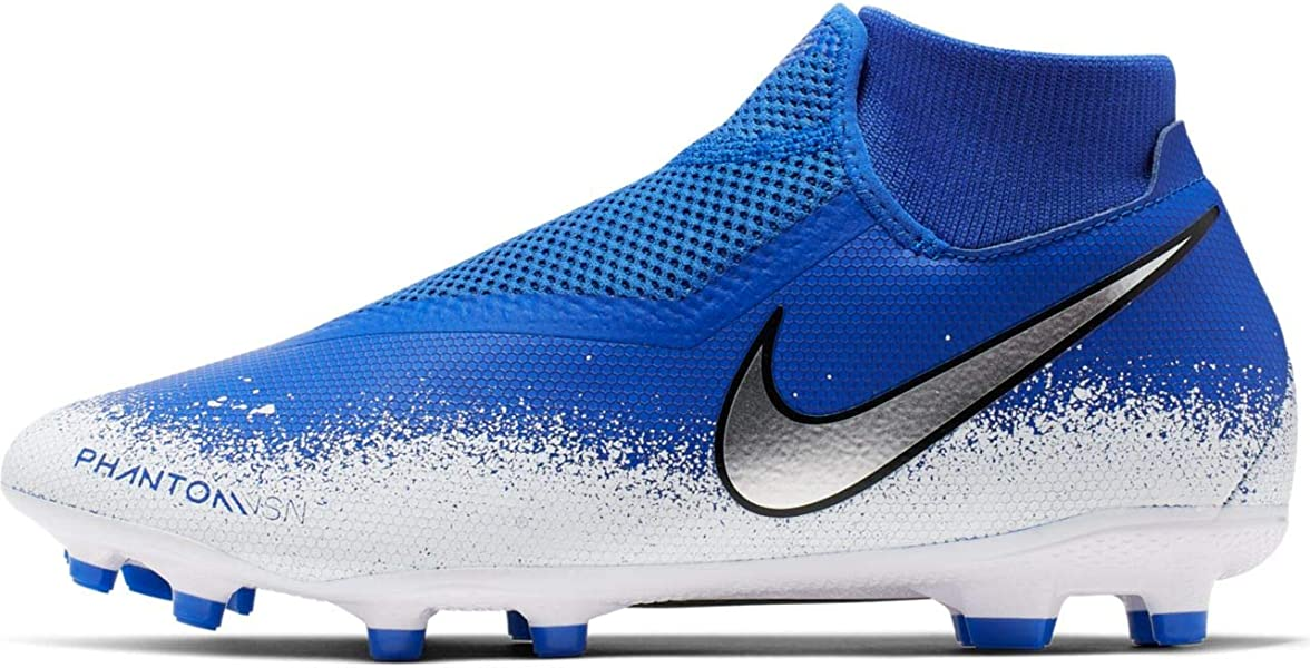 d19ee4858 Nike Phantom Vision Academy DF MG Soccer Cleat (Racer Blue/White/Chrome)