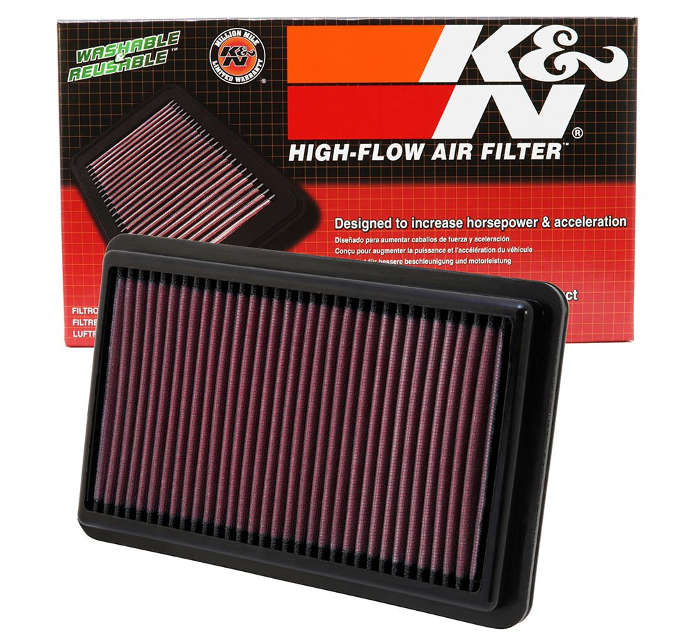 K&N 33-2473 High Performance Replacement Air Filter