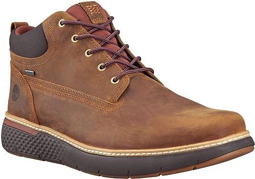 Botas de hombre Timberland en nobuck de color marrón con Gore Tex