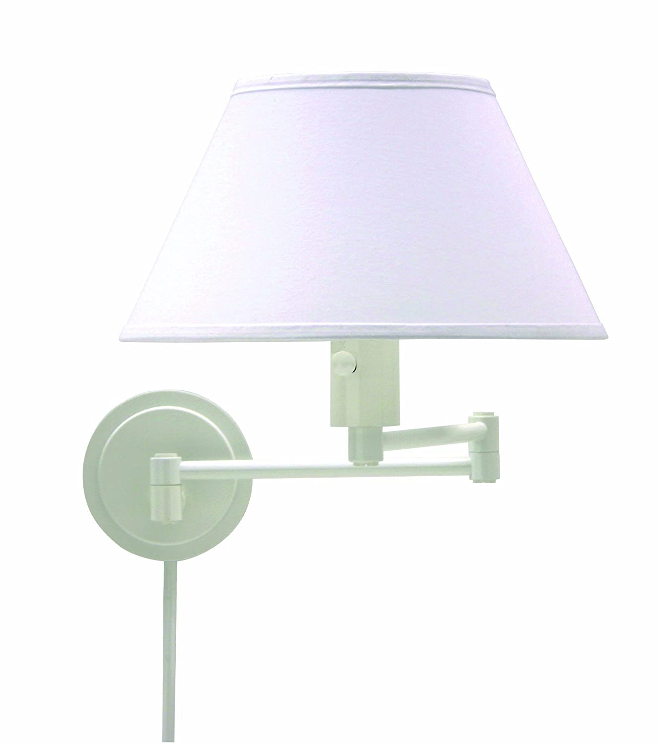 House Of Troy WS14-91 Home/Office Collection Swing-Arm Wall Lamp ...
