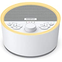 RENPHO - Máquina de sonido de sueño recargable, máquina de ruido blanco con luz nocturna para dormir de bebé, máquina de…