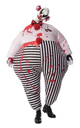 Rubieu0027s Menu0027s Inflatable Evil Clown Costume Multi Standard  sc 1 st  Amazon.com & Amazon.com: Rubieu0027s Menu0027s Inflatable Evil Clown Costume Multi ...