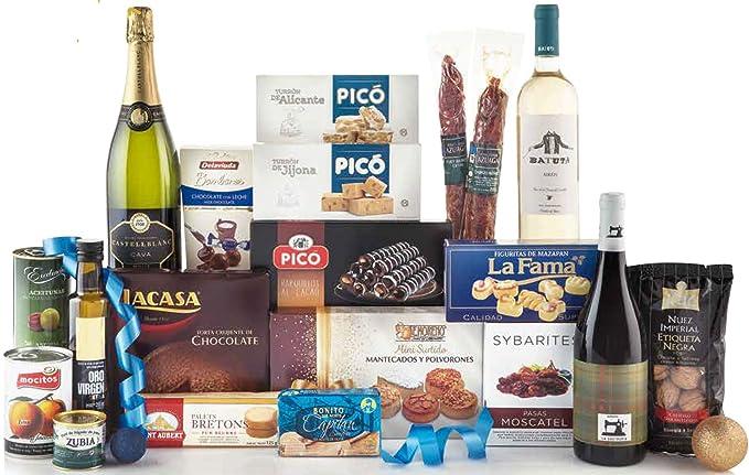 Cesta Navidad Nº 3: Amazon.es: Alimentación y bebidas
