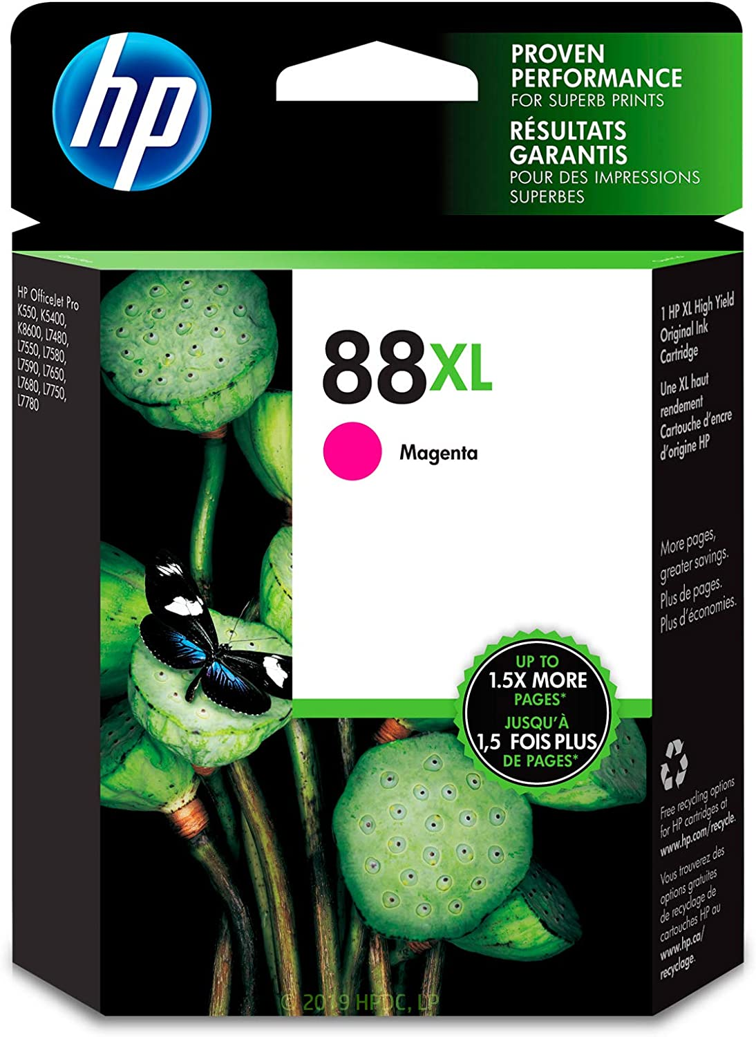 HP 88XL | Ink Cartridge | Magenta | C9392AN