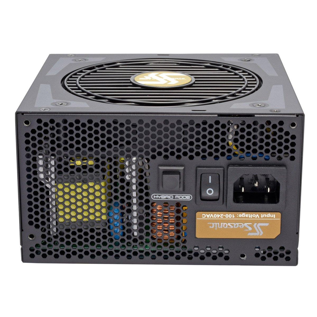Seasonic SSR-550FX Color Negro Fuente de alimentaci/ón
