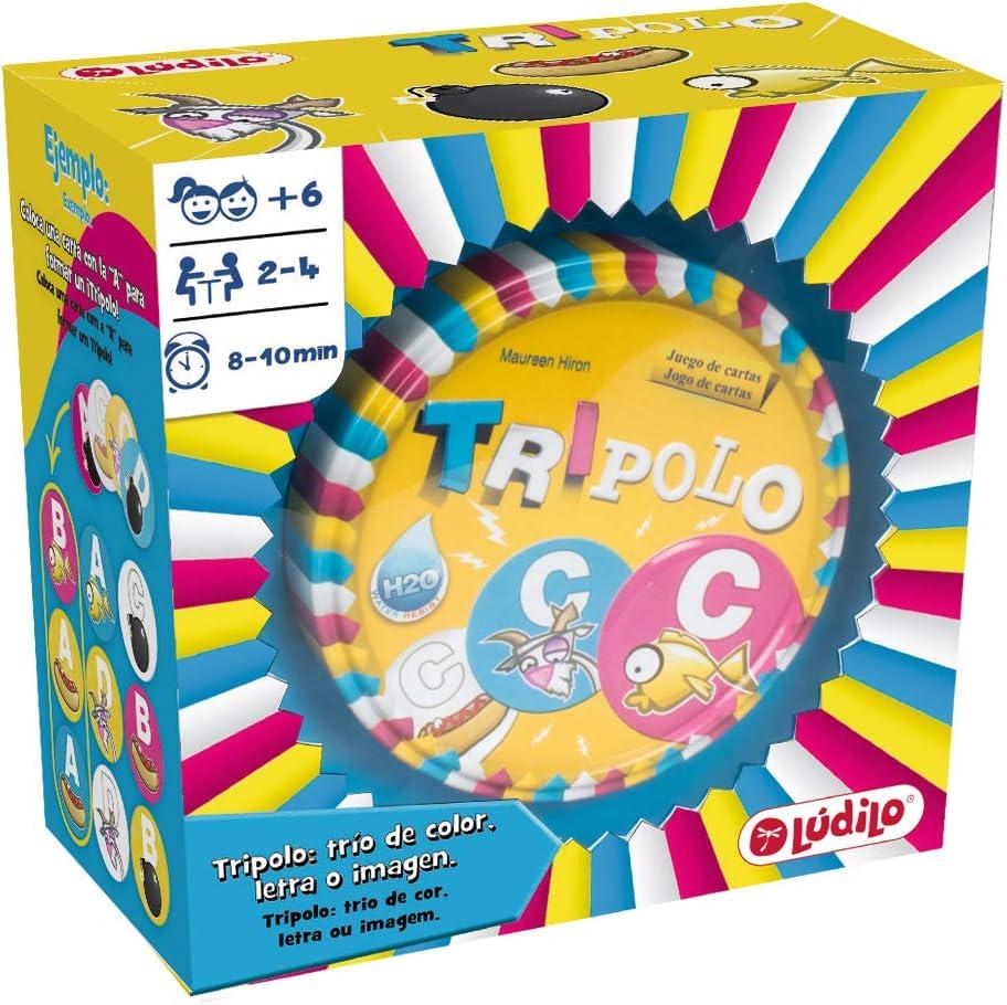 Lúdilo Tripolo, educativo, desarrollo de la concentración, juego de mesa para niños (80451)