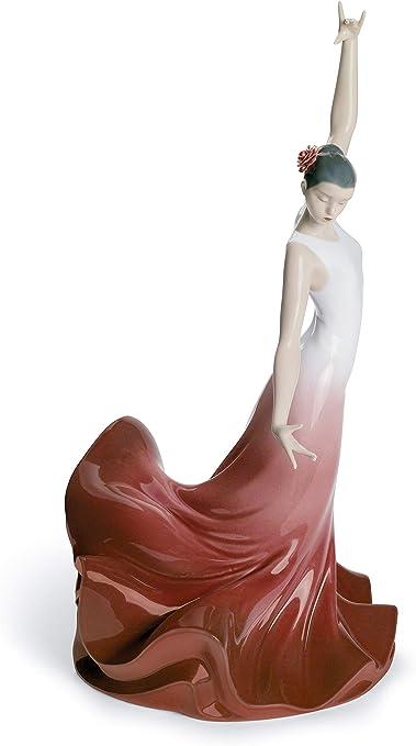 LLADRÓ Figura Mujer Alma De España. Figura Flamenco de Porcelana.: Amazon.es: Hogar
