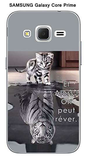 coque samsung core prime chat