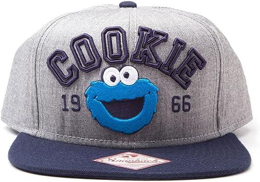 Bioworld Merchandising Barrio Sésamo Gorra Béisbol Cookie Monster