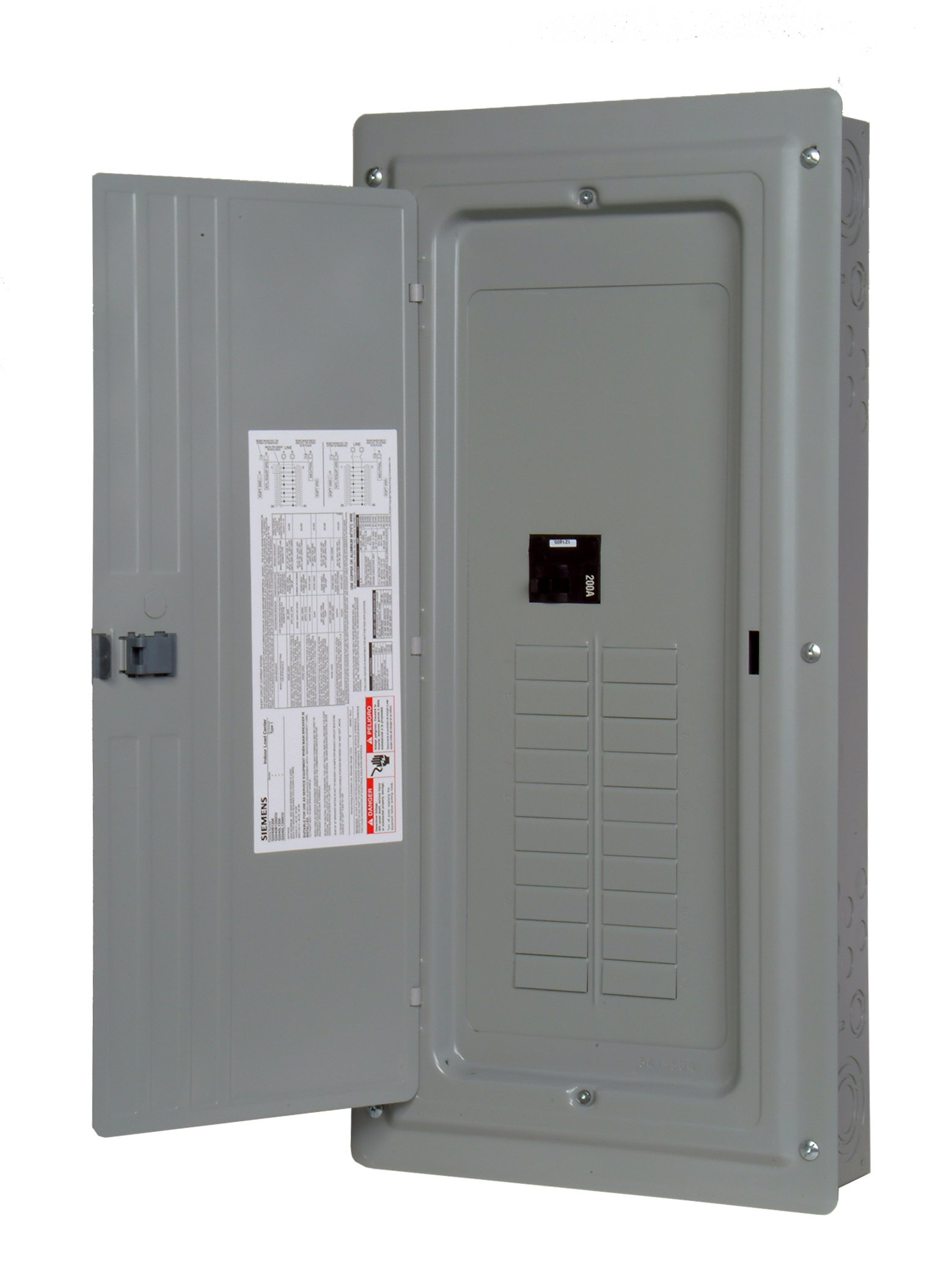 Murray LC2040B1200P 20 Space 20 Circuit 200 Amp Main Breaker Indoor Load Center Value Pack
