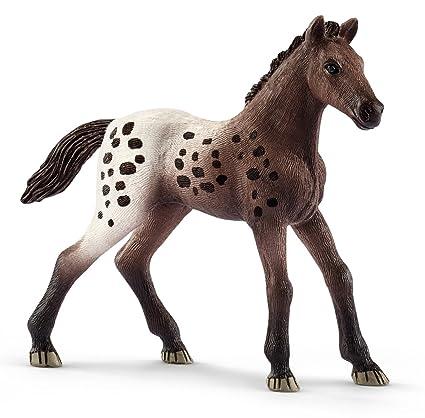amazon com schleich appaloosa foal toy figurine schleich toys games