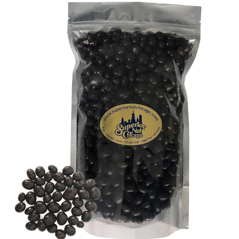 Dark Chocolate Covered Espresso Beans - Crunchy Espresso Beans Drenched in Rich Dark Chocolate (2 pound bag)