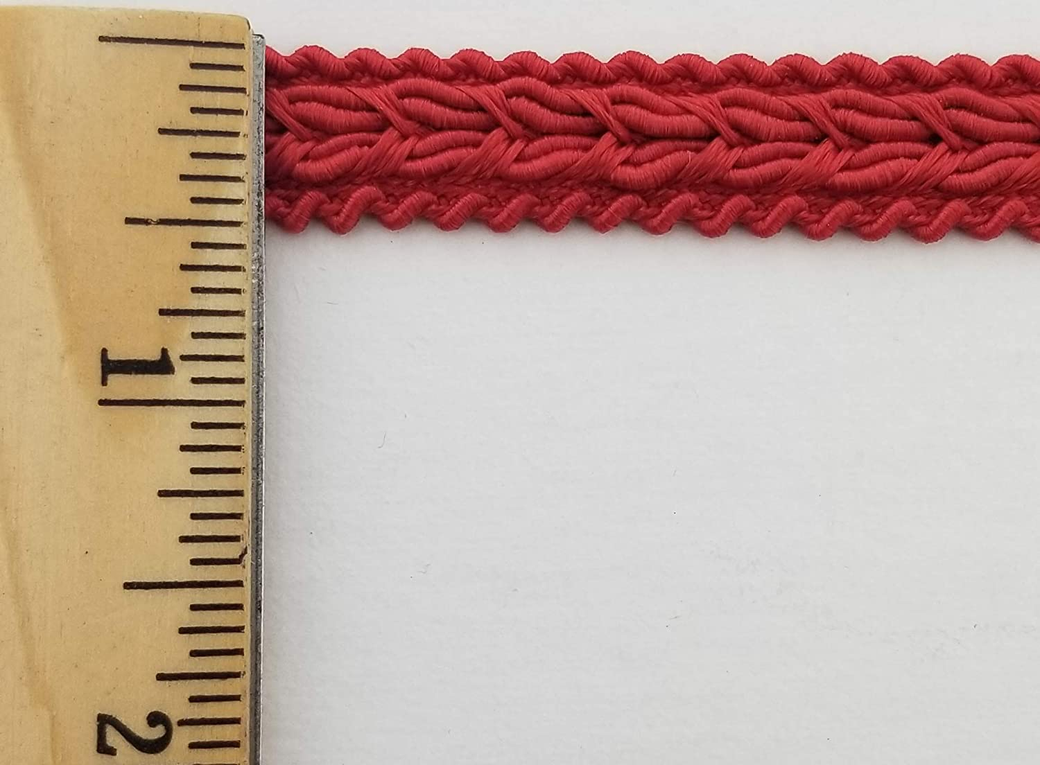 1//2 Braid Gimp Trimming Winter White 18 Continuous Yards Color Options Available!