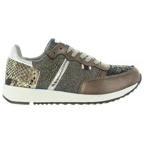 Zapatillas Deporte de Mujer y Niña LOIS JEANS 83849 15 Taupe: Amazon.es: Zapatos y complementos