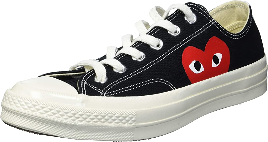 Converse x CDG (High Risk Red Black