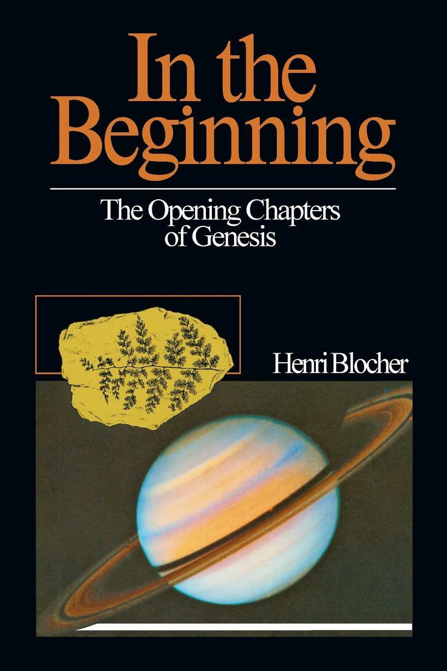 In the Beginning: The Opening Chapters of Genesis: Henri Blocher:  9780877843252: Amazon.com: Books