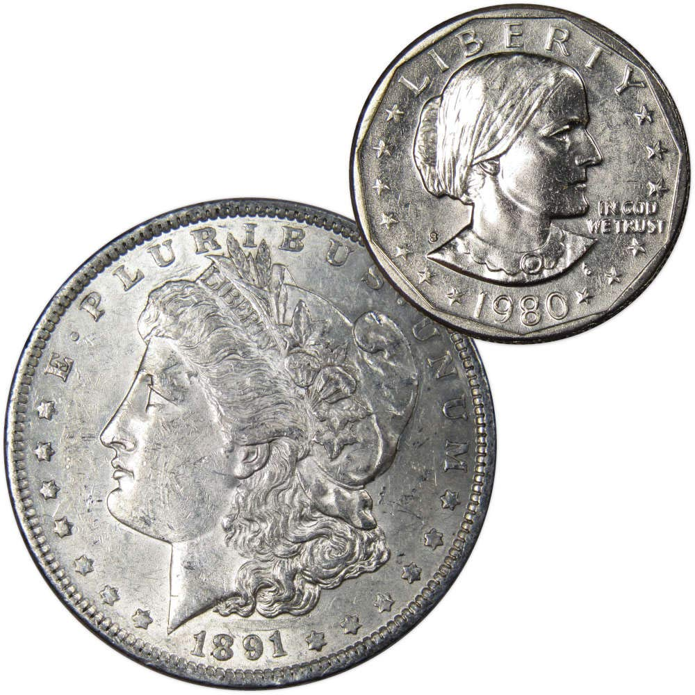 SBA 1980-s BU Susan B Anthony Dollar Unc