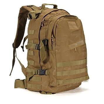 HSQM Mochila táctica militar de 40 litros para deportes al aire libre, montañismo, camping