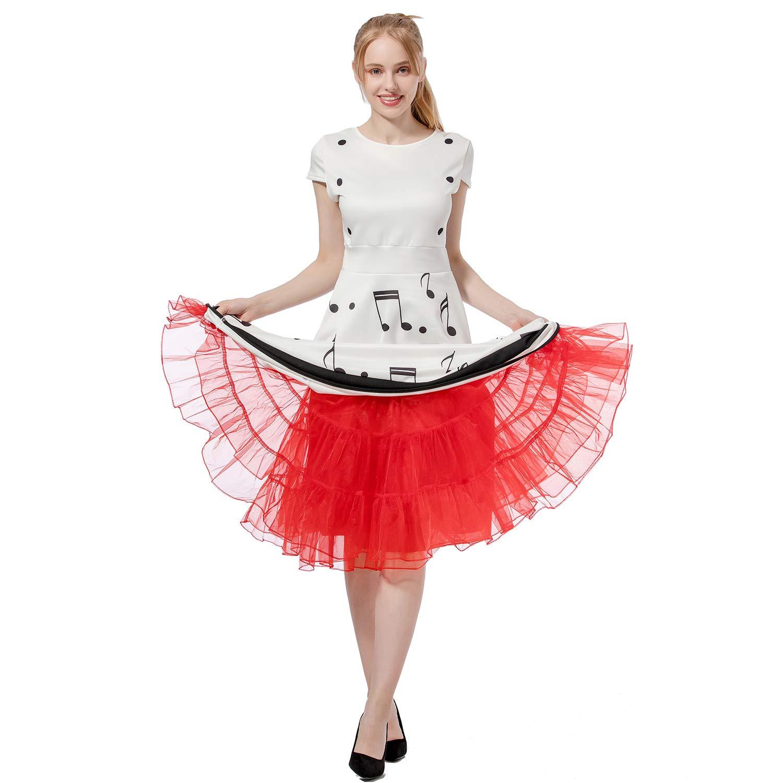 Vintage Short Tutu Kleid Tüll Petticoat Party Frau Braut Unterrock