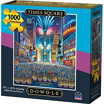 Dowdle Jigsaw Puzzle - Times Square - 1000 Piece: Toys & Games